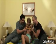 Raunchy Threesome Drilling - scene 5