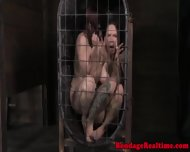 Filthy Sub Released From Their Cage - scene 3