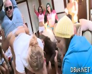 Salacious Blowjob Party - scene 1