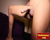 Skinny Thai Tgirl Ladyboy Tugs Her Dick - scene 5