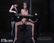 Intense Caning For Worthless Babe - scene 11