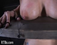 Intense Caning For Worthless Babe - scene 2