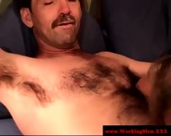 Straight Mature Bear Gets Gay Sucked - scene 7
