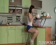 Teen Cutie Gets Tough Experience - scene 1
