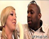 White Ass For Black Cock - scene 7