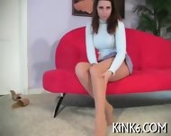 Kinky Teaser In Sexy Pantyhose - scene 4