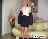 Masturbation In Black Tights - scene 4
