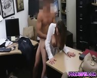 Janice Get Naked And Sucking On My Cock For Cash - scene 6