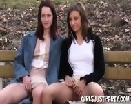 Ellis And Demia Two Horny Teen Girls - scene 9