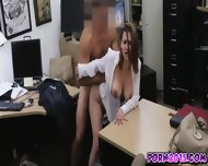 Janice Gets Drilled In Any Position By Huge Dick In Office - scene 11