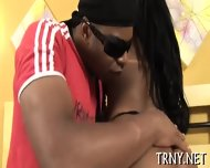 Chic Tranny Gets It Ever Deeper - scene 3