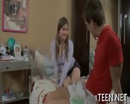 Hunk Pounds At Babe Hungrily - scene 2