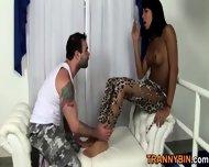 Slutty Ebony Transsexual - scene 1