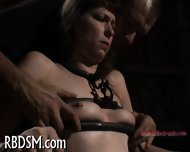 Hardcore Clamping Of Hot Jugs - scene 10