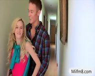 Busty Milf Jennifer Best Horny Threeway With Teen Slut - scene 1