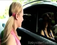 Couple Picked Up A Young Babysitter To Make Her A Naughty Proposition - scene 6