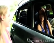 Couple Picked Up A Young Babysitter To Make Her A Naughty Proposition - scene 7