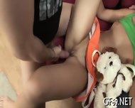 Babe Gets Lusty Threesome Sex - scene 11