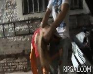 Anal Banged Sexy Slut - scene 3