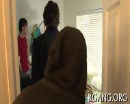 Gangbang With Slutty Gals - scene 2