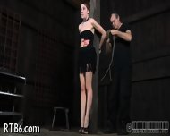 Painful Clamping For Beauty S Tits - scene 1
