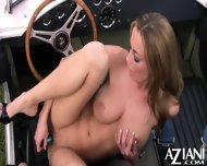 Anita Dark Strips Out Of Her Sexy Bikini Rubs Her Pussy Then Masturbates With Her Vibrator - scene 11