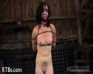 Slave Gets Ardous Caning - scene 8