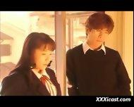 Asian Schoolgirl Bondage - scene 1