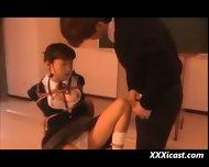 Asian Schoolgirl Bondage - scene 9