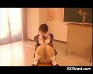 Asian Schoolgirl Bondage - scene 2