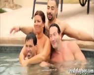 Bunch Of Horny Couples Swapping Partners And Group Sex - scene 2