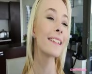 Small Tits Blonde Teen Maddy Rose In Stockings Banged Good - scene 6