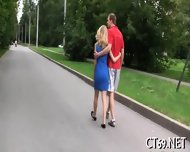 Babe Gets Covered With Cum - scene 6