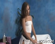 Tall Babe Strips In A Cute Way - scene 3