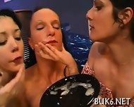 Savoring Ejected Warm Jizz - scene 7