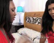 Black Lesbians Undress For Sex - scene 3