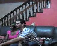 White Sex Tourist Black Girl Blowjob - scene 1