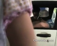 Teen Girls Suck Dick On Road Trip - scene 5