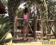 Young Trenny Tests Her Ass - scene 2