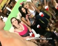 Eight Teen Girls Play With Men In Group - scene 12