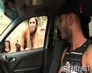 Cute Tranny Gets Long Ass Ride - scene 2