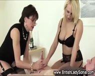 Brit Domina Milks Cock - scene 6