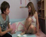 Russian Teenies Enjoy Sex - scene 1