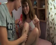 Russian Teenies Enjoy Sex - scene 2