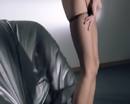 Babes In Pantyhose Coitus With Strap On - scene 2