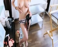 Busty Blonde With Luxury Chest - scene 9