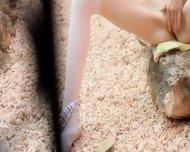 Petite Skinny Doll Tease - scene 6