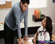 High School Teen Pounded - scene 2