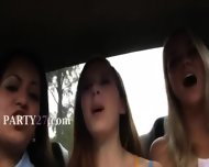Tenn College Girls Erotica In Cars - scene 1