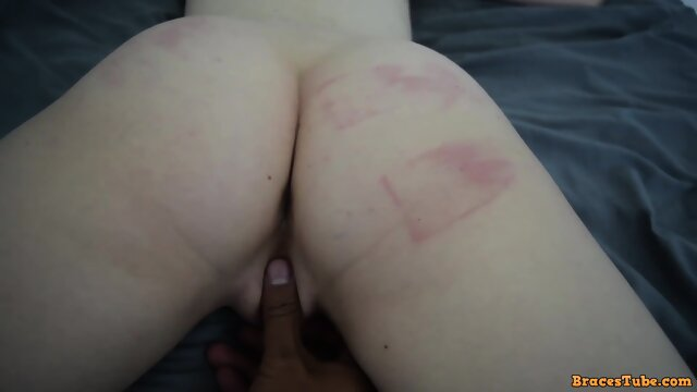 Schoolgirl is Whipped and Creampied